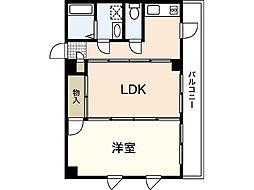 クラウンハイム[2階]の間取り