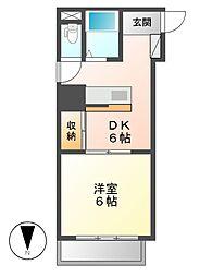K−Point Bldg(ケイポイントビル)[7階]の間取り