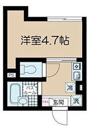 フェリーチェ中野新橋II ナカノシンバシツー[302号室]の間取り
