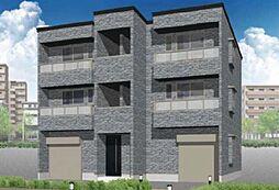 新築 ARROWS姪浜駅南[201号号室]の外観