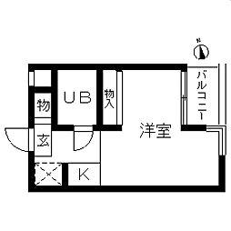 TOP・高島平第4[0203号室]の間取り