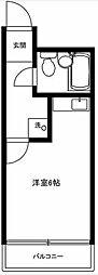 東京都北区王子4丁目の賃貸マンションの間取り