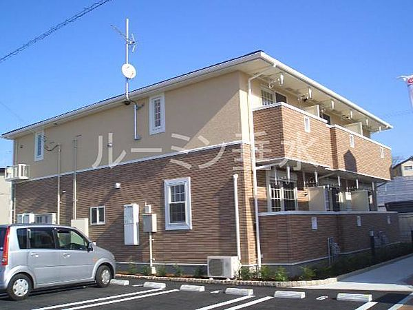 兵庫県加東市社の賃貸アパートの外観