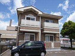 岡山県倉敷市中畝7丁目の賃貸アパートの外観