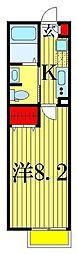 エルスタンザ高砂[1階]の間取り