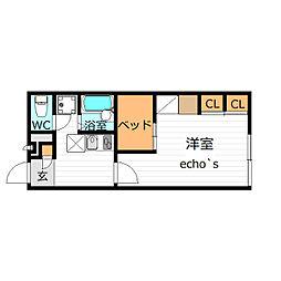[タウンハウス] 京都府舞鶴市清道新町 の賃貸【/】の間取り
