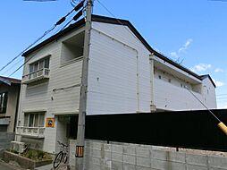 山形県山形市東原町2丁目の賃貸アパートの外観