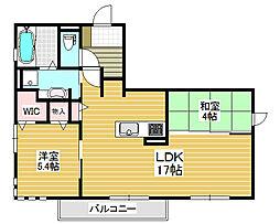 ルナピエーナ[1階]の間取り