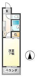 DH白鳥[7階]の間取り