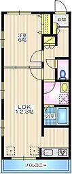 ドリームハイ四季美台[1階]の間取り