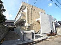 東京都調布市深大寺東町6丁目の賃貸アパートの外観