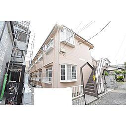 埼玉県川越市脇田新町の賃貸アパートの外観