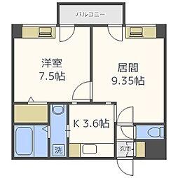 藤井ビル北23条II[810号室]の間取り