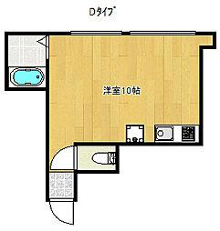 ロイヤルハイツまつい4[2階]の間取り