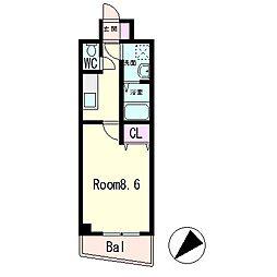 MNK-5[2階]の間取り