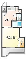 メゾン野田[2階]の間取り