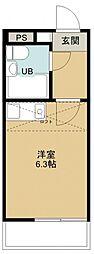 レノ所沢[106号室号室]の間取り