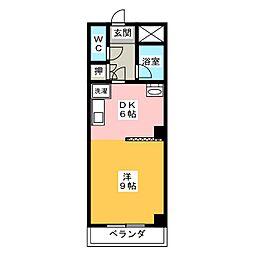 音羽壱番館金山[5階]の間取り