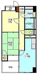 セーフティメゾン中央町[3階]の間取り