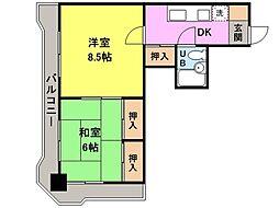 NOAマンション[303号室]の間取り