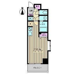 東京メトロ東西線 葛西駅 徒歩5分の賃貸マンション 1階1Kの間取り