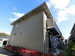 千葉県成田市美郷台2丁目の賃貸アパートの外観