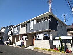 埼玉県春日部市豊野町1の賃貸アパートの外観