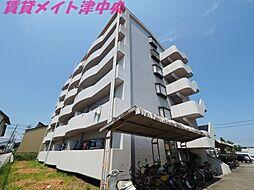 三重県津市高茶屋小森上野町の賃貸マンションの外観
