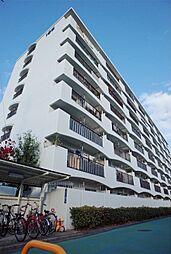 大阪府茨木市水尾3丁目の賃貸マンションの外観