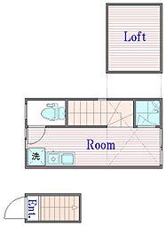 サークルハウス浮間壱番館[2階]の間取り