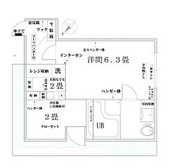 東京都板橋区成増1丁目の賃貸マンションの間取り