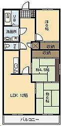 サンモール広島[402号室]の間取り