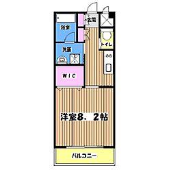 ドミールMTR[5階]の間取り