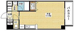 ドルチェヴィータ新大阪[2階]の間取り