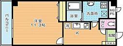 ギャラン貴船[305号室]の間取り