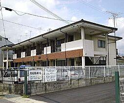 京都府京都市右京区太秦袴田町の賃貸アパートの外観