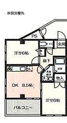 第3セキビル[3階]の間取り