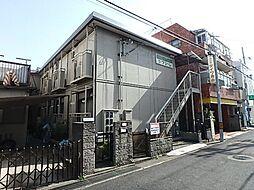 兵庫県神戸市灘区記田町5丁目の賃貸アパートの外観