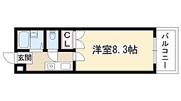 第2マンション菜の花[3C号室]の間取り