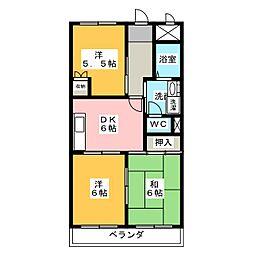 エスポワール・クラート[2階]の間取り