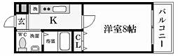 ディアさくら夙川[4階]の間取り