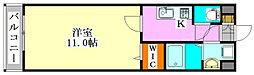 アフロディーテ船橋本町[602号室]の間取り
