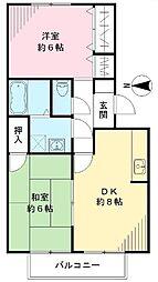 欅閣 ケヤキカク[103号室号室]の間取り