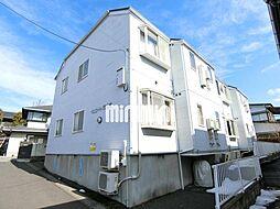 宮城県仙台市泉区市名坂字万吉前の賃貸アパートの外観