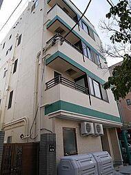 東京都文京区白山1丁目の賃貸アパートの外観
