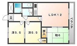 マンション東神田[2階]の間取り