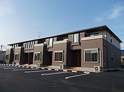 鹿児島県指宿市十町の賃貸アパートの外観