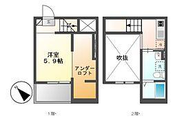 the prime 宮脇[1階]の間取り