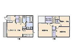 メゾン中村[2階]の間取り