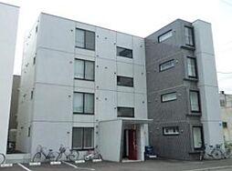 北海道札幌市中央区北二条西21丁目の賃貸マンションの外観